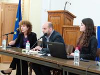 Ms Koutra, Areti Voulomenou & Aris Gorogias